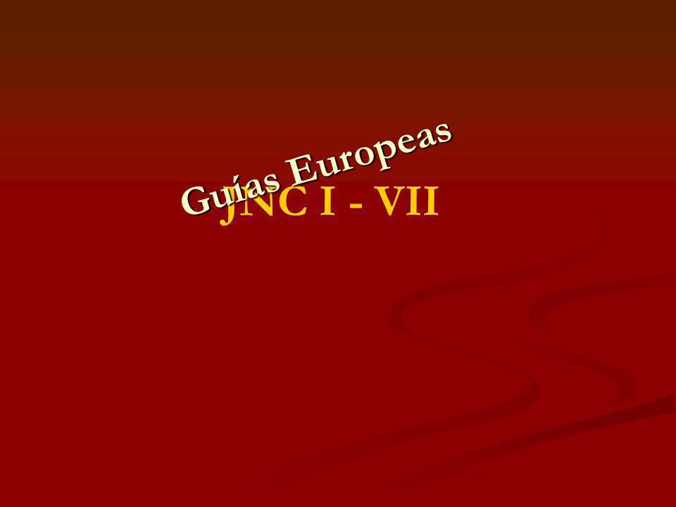 Guías Europeas JNC I - VII