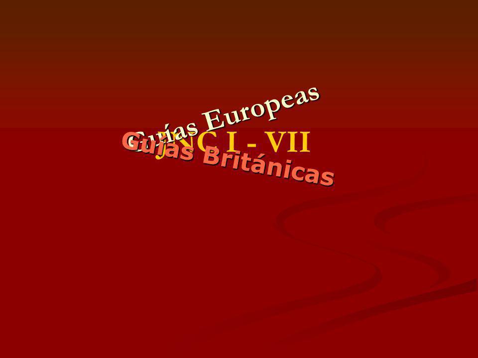 Guías Europeas JNC I - VII Guías Británicas