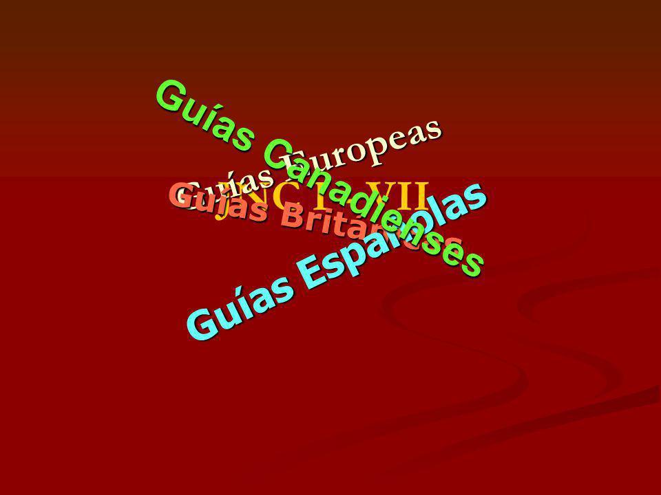JNC I - VII Guías Canadienses Guías Europeas Guías Españolas
