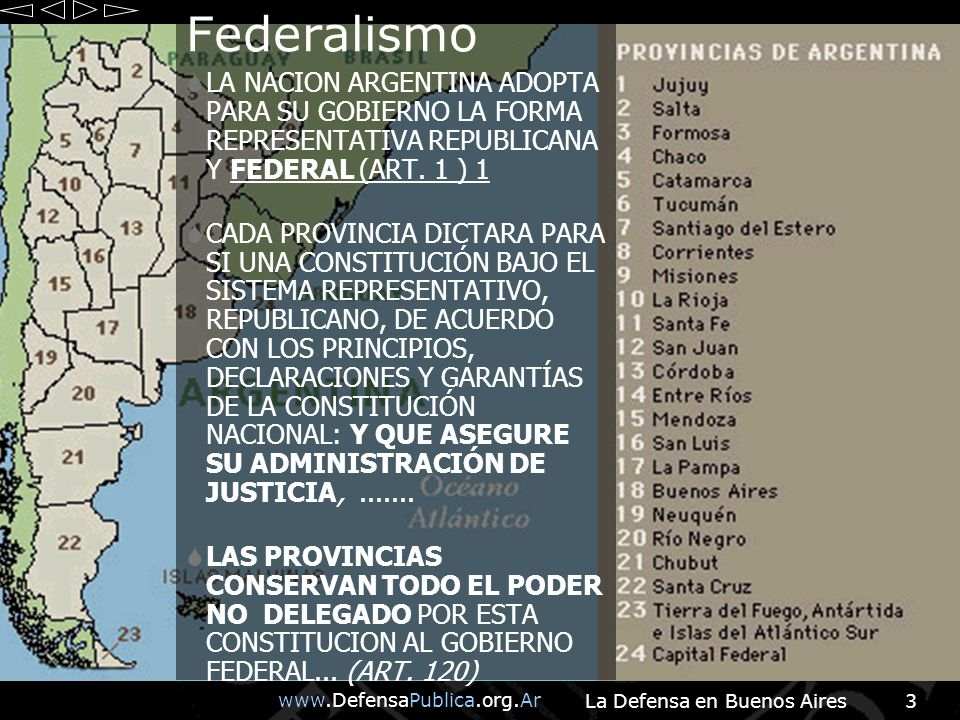 La Defensa en Buenos Aires