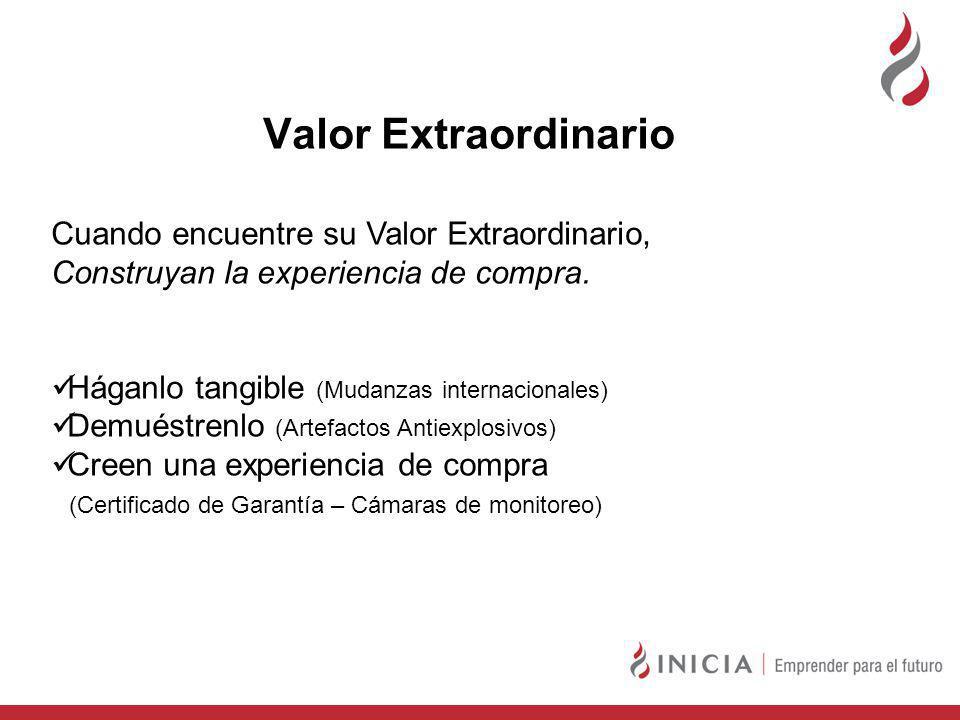 Valor Extraordinario Cuando encuentre su Valor Extraordinario,