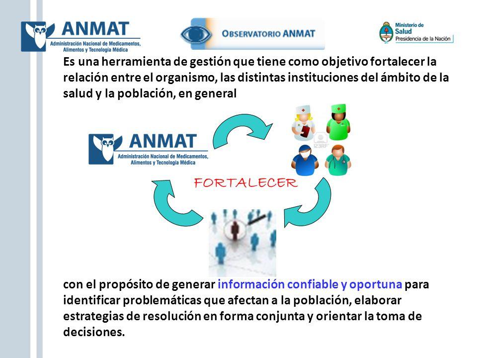 Es una herramienta de gestión que tiene como objetivo fortalecer la relación entre el organismo, las distintas instituciones del ámbito de la salud y la población, en general