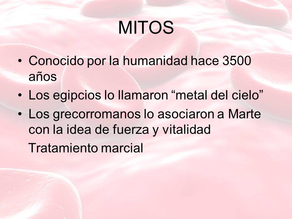 MITOS Conocido por la humanidad hace 3500 años
