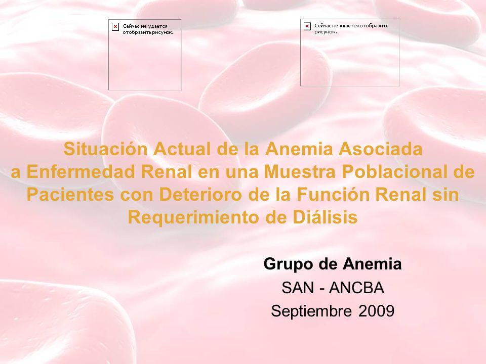 Grupo de Anemia SAN - ANCBA Septiembre 2009