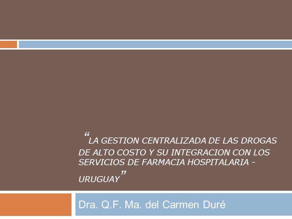 Dra. Q.F. Ma. del Carmen Duré
