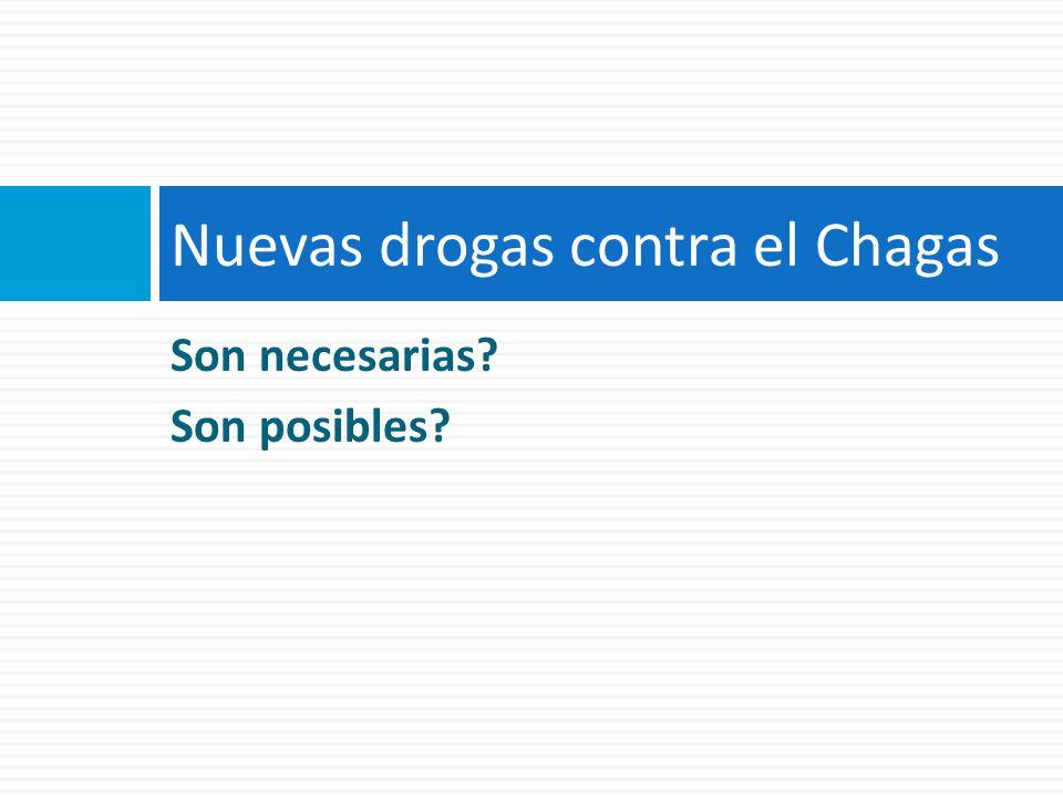 Nuevas drogas contra el Chagas