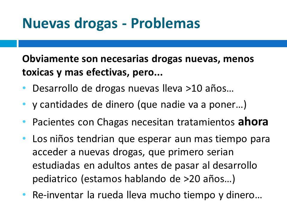 Nuevas drogas - Problemas