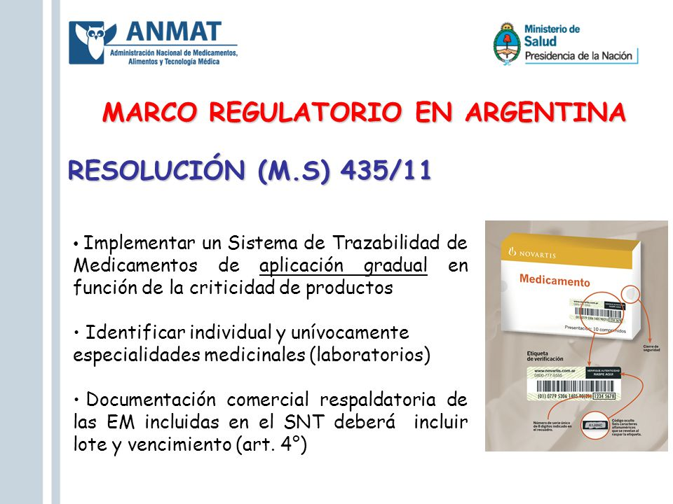 MARCO REGULATORIO EN ARGENTINA