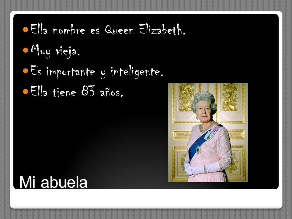 Ella nombre es Queen Elizabeth.