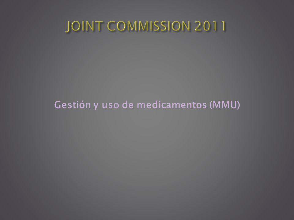 Gestión y uso de medicamentos (MMU)