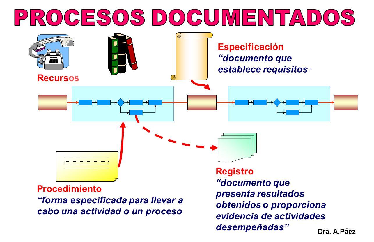 PROCESOS DOCUMENTADOS