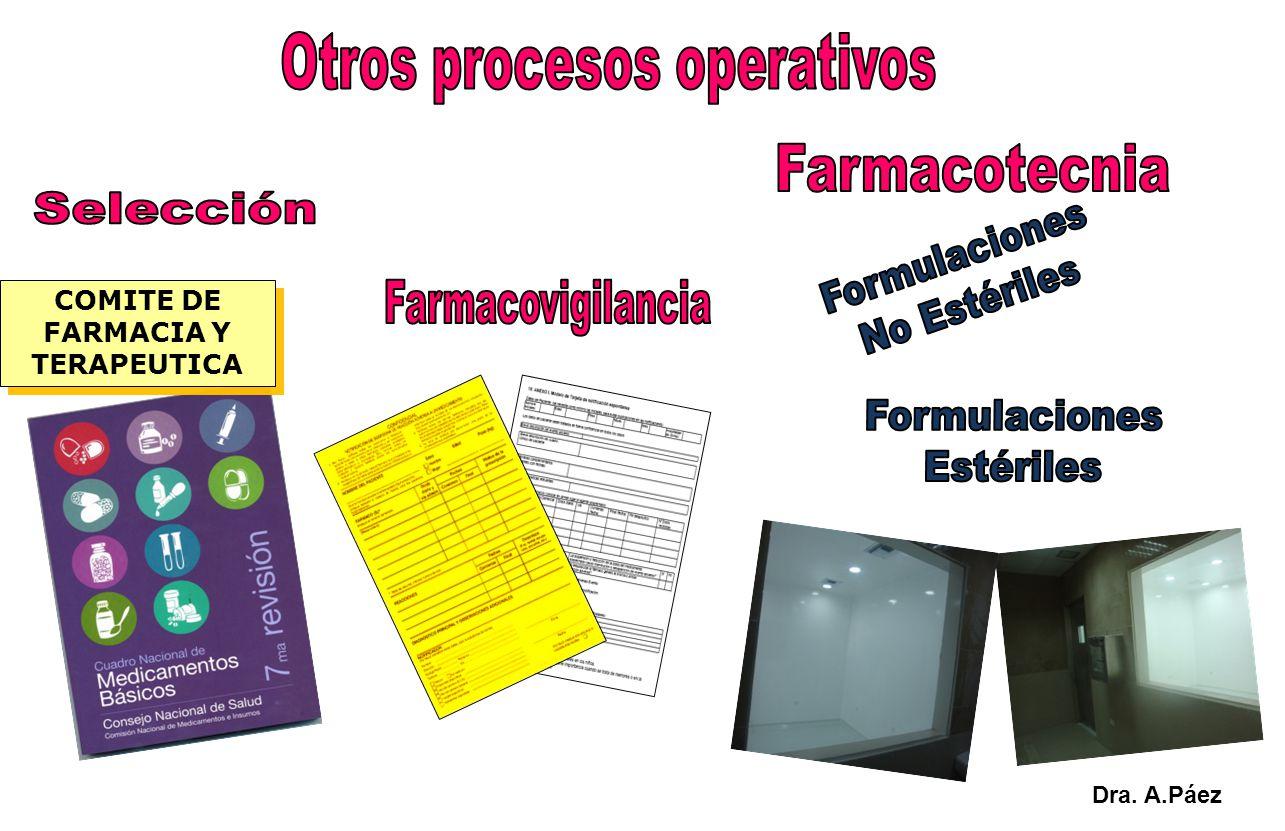 COMITE DE FARMACIA Y TERAPEUTICA