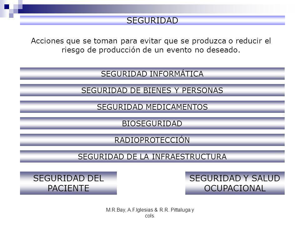 SEGURIDAD DEL PACIENTE SEGURIDAD Y SALUD OCUPACIONAL