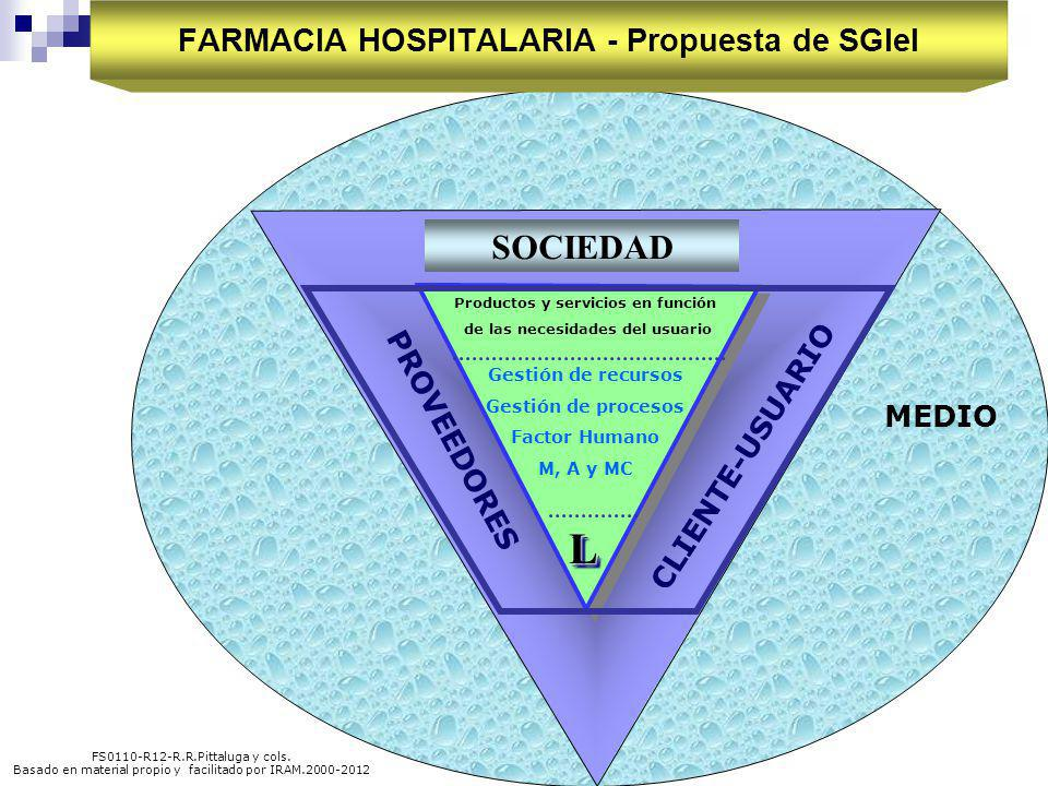 FARMACIA HOSPITALARIA - Propuesta de SGIeI