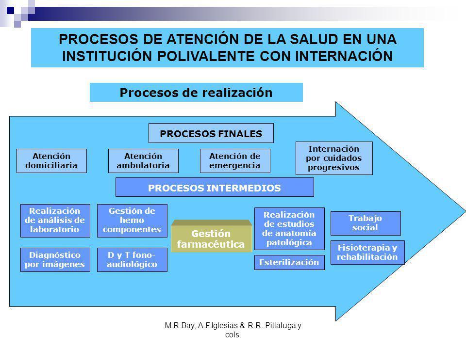 PROCESOS DE ATENCIÓN DE LA SALUD EN UNA INSTITUCIÓN POLIVALENTE CON INTERNACIÓN