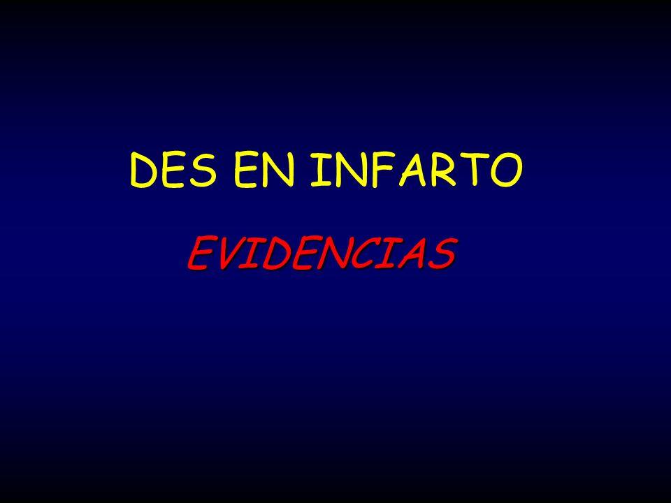 DES EN INFARTO EVIDENCIAS