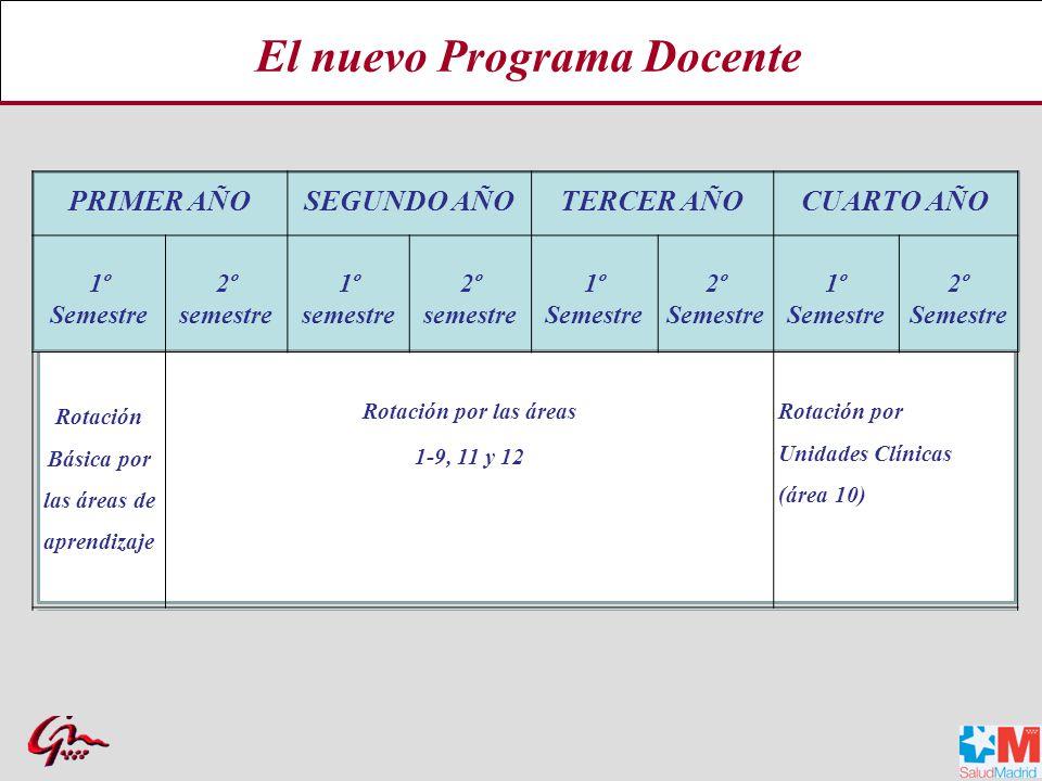 El nuevo Programa Docente