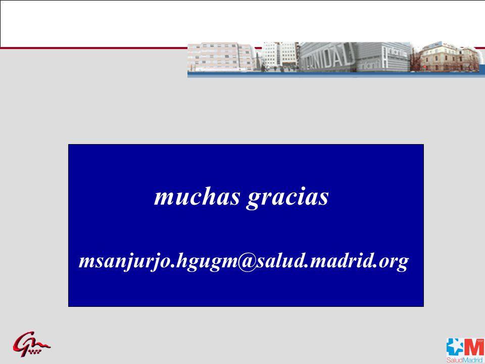 muchas gracias msanjurjo.hgugm@salud.madrid.org