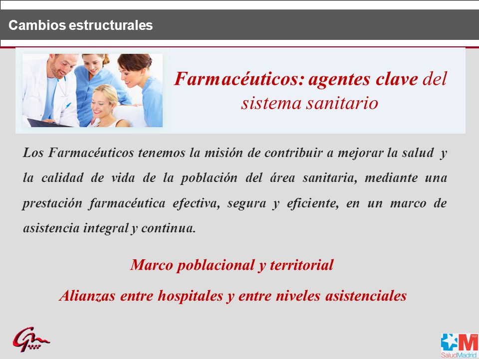 Farmacéuticos: agentes clave del sistema sanitario