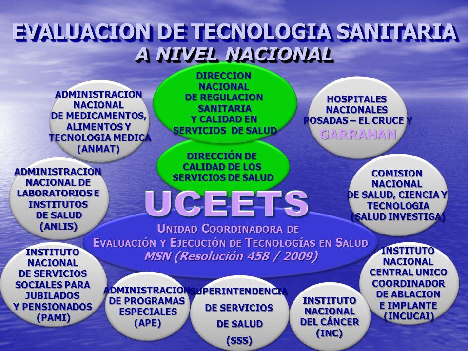 Unidad Coordinadora de Evaluación y Ejecución de Tecnologías en Salud