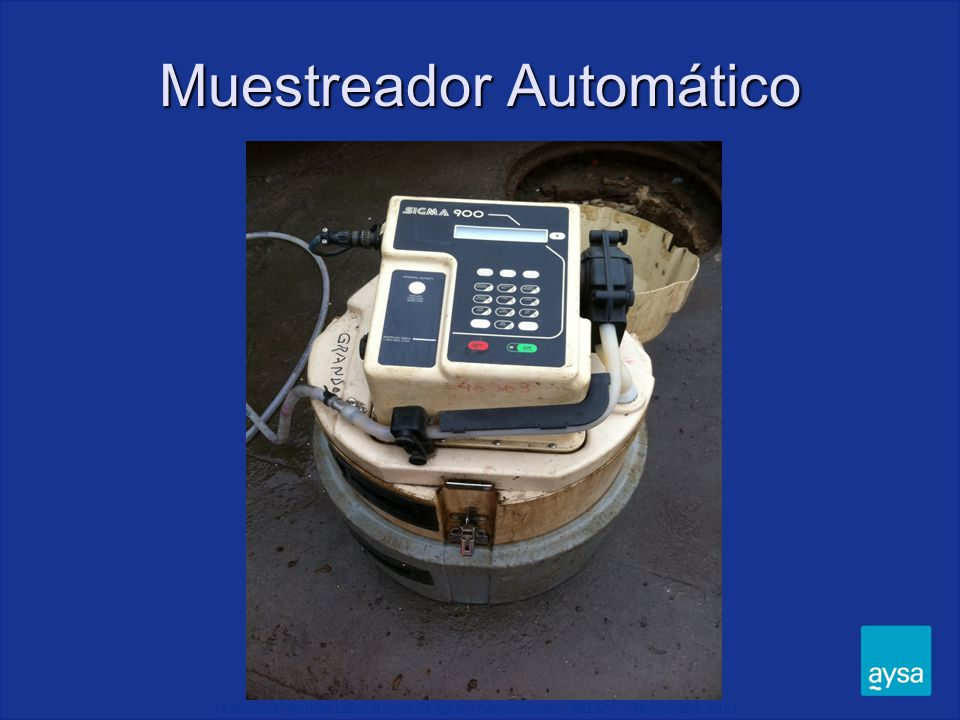Muestreador Automático