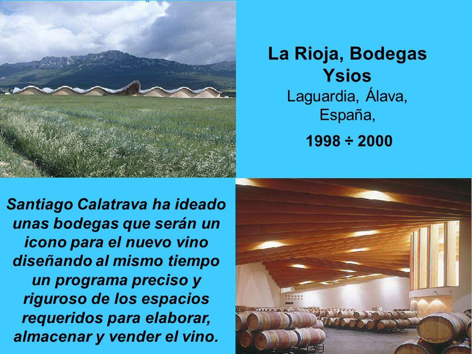 La Rioja, Bodegas Ysios Laguardia, Álava, España,