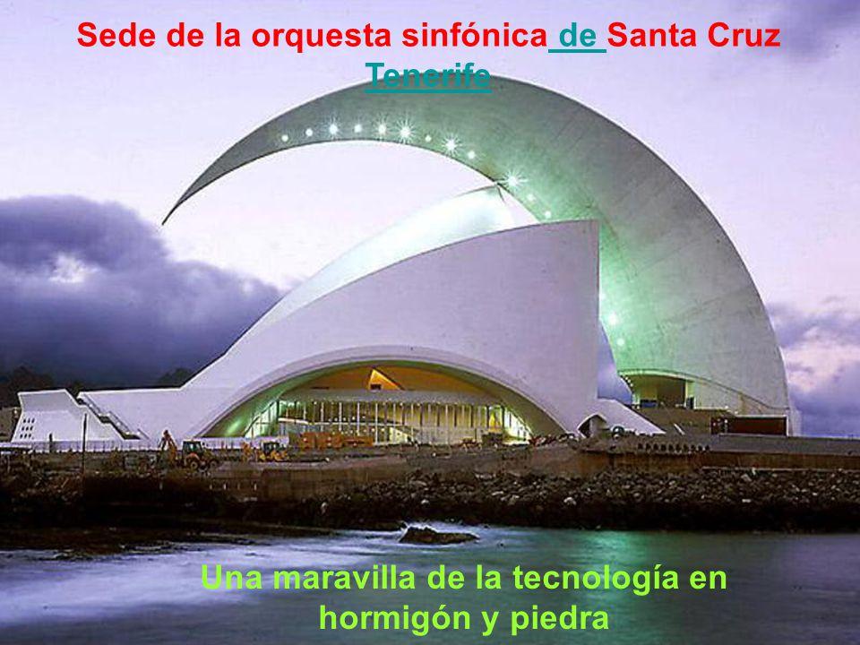 Sede de la orquesta sinfónica de Santa Cruz Tenerife