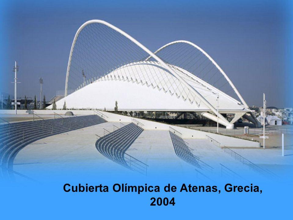 Cubierta Olímpica de Atenas, Grecia, 2004