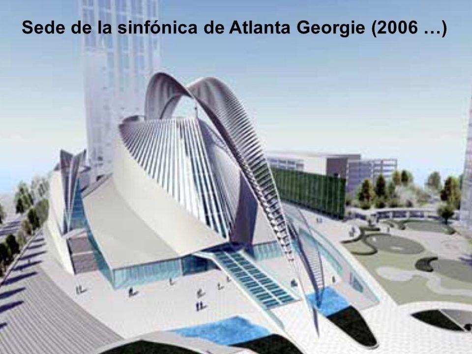 Sede de la sinfónica de Atlanta Georgie (2006 …)