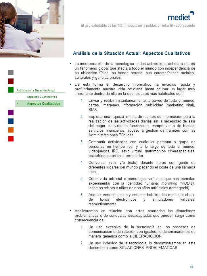 Análisis de la Situación Actual: Aspectos Cualitativos