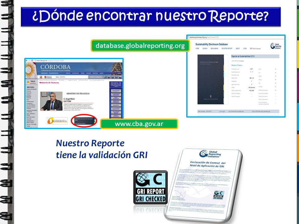 ¿Dónde encontrar nuestro Reporte