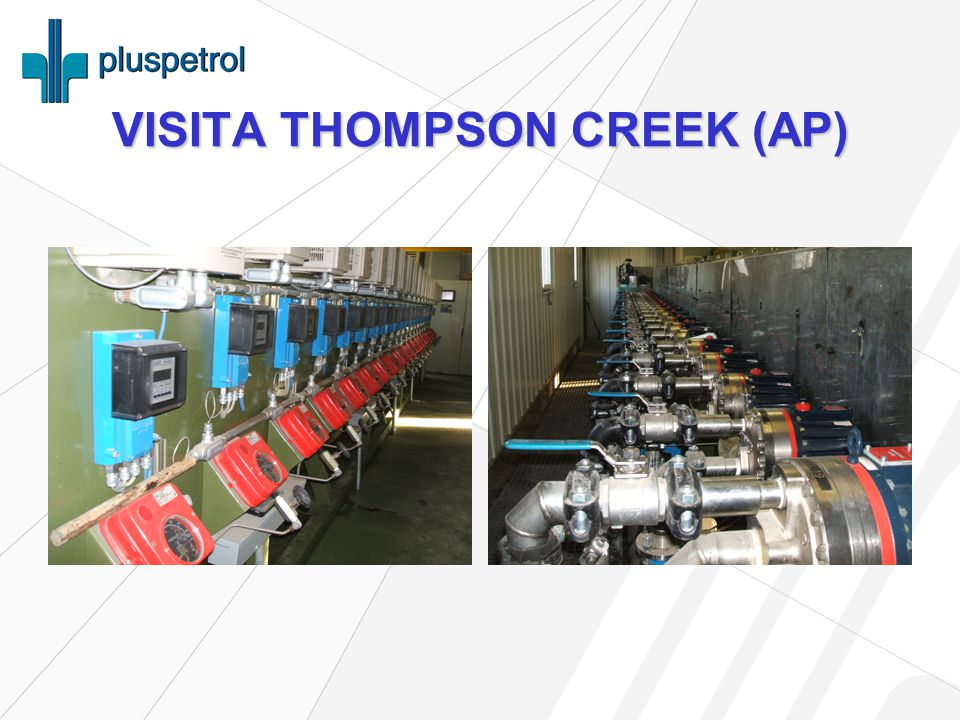 VISITA THOMPSON CREEK (AP)