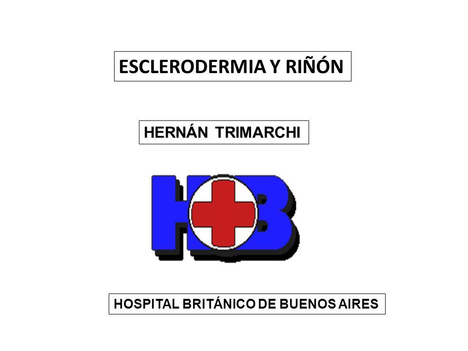 ESCLERODERMIA Y RIÑÓN HERNÁN TRIMARCHI