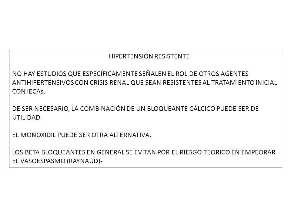 HIPERTENSIÓN RESISTENTE