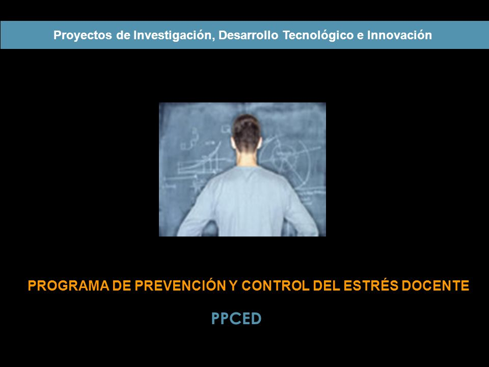 PROGRAMA DE PREVENCIÓN Y CONTROL DEL ESTRÉS DOCENTE