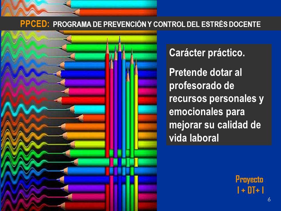 PPCED: PROGRAMA DE PREVENCIÓN Y CONTROL DEL ESTRÉS DOCENTE