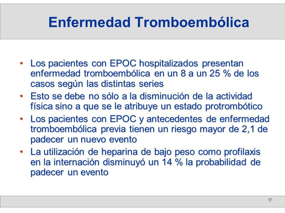 Enfermedad Tromboembólica