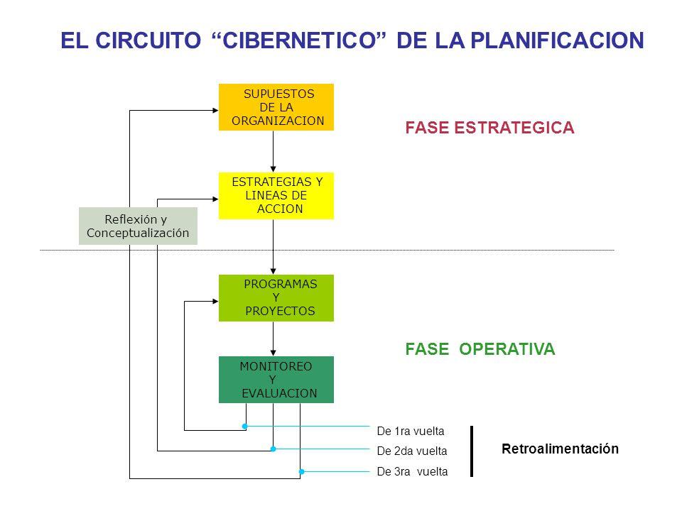 EL CIRCUITO CIBERNETICO DE LA PLANIFICACION
