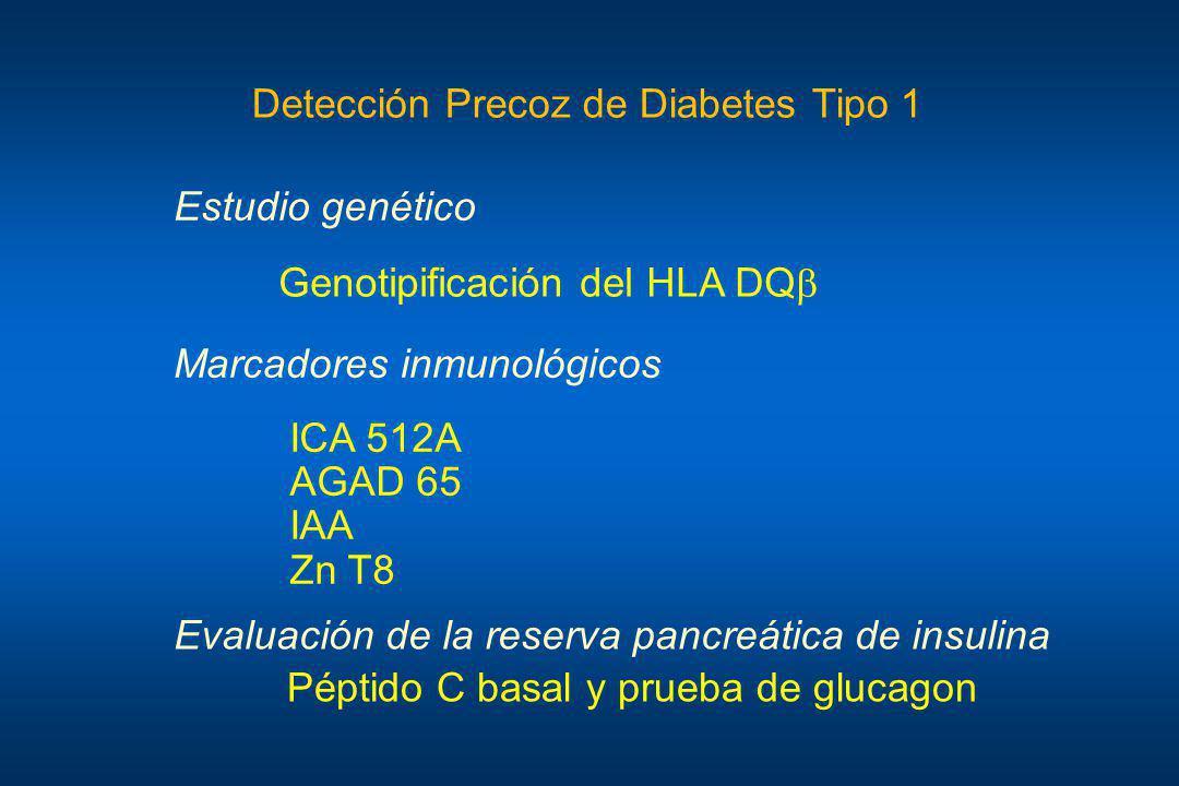 Detección Precoz de Diabetes Tipo 1