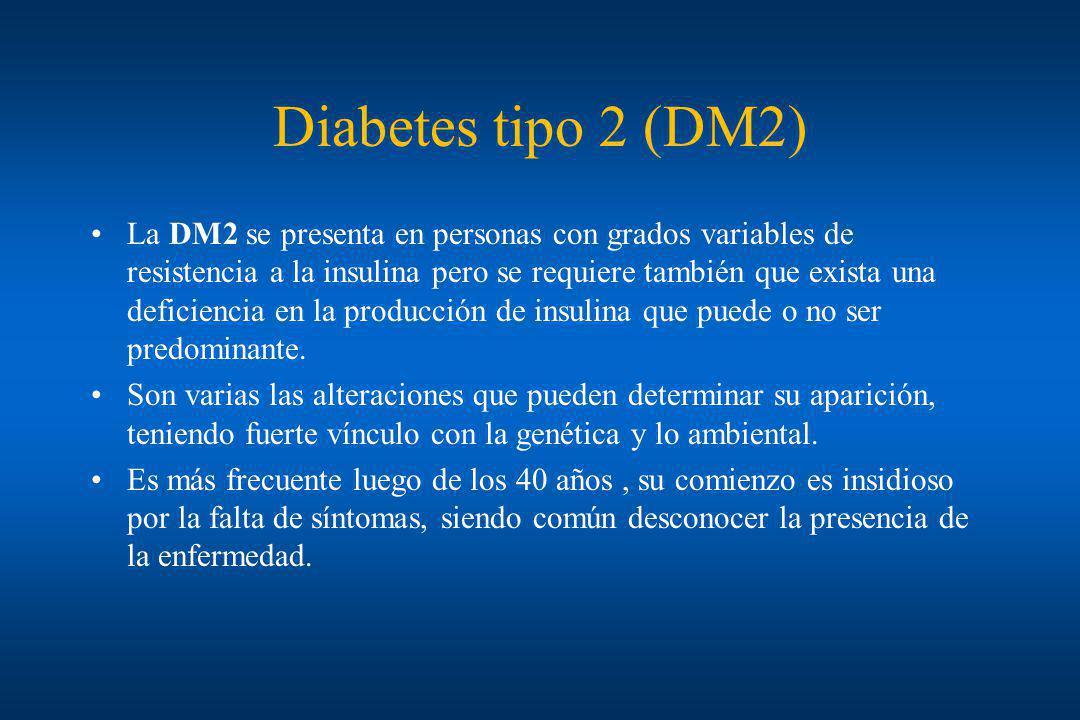 Diabetes tipo 2 (DM2)