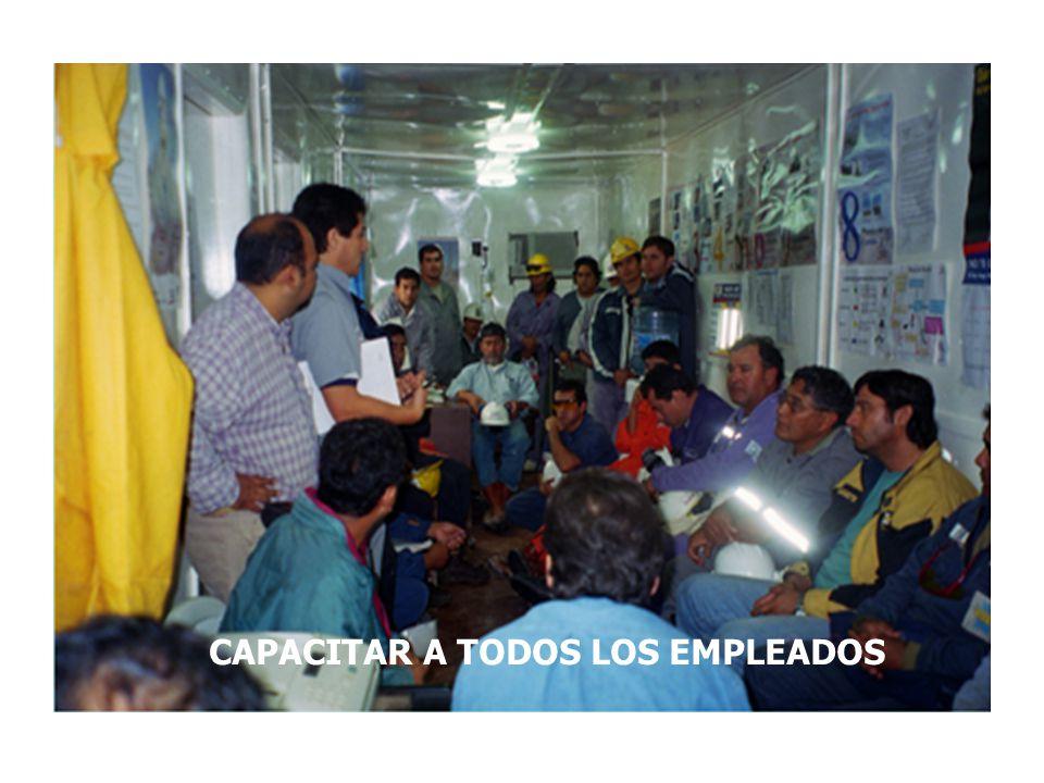 CAPACITAR A TODOS LOS EMPLEADOS