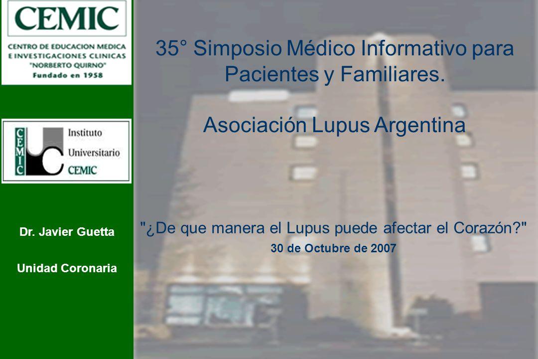 35° Simposio Médico Informativo para Pacientes y Familiares.