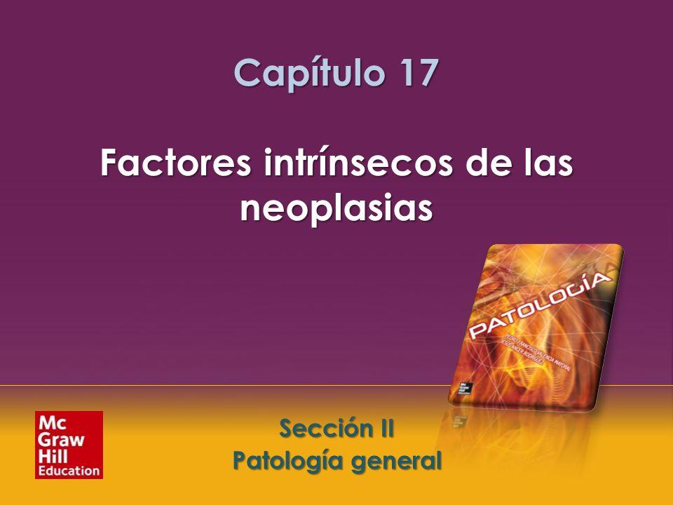 Capítulo 17 Factores intrínsecos de las neoplasias