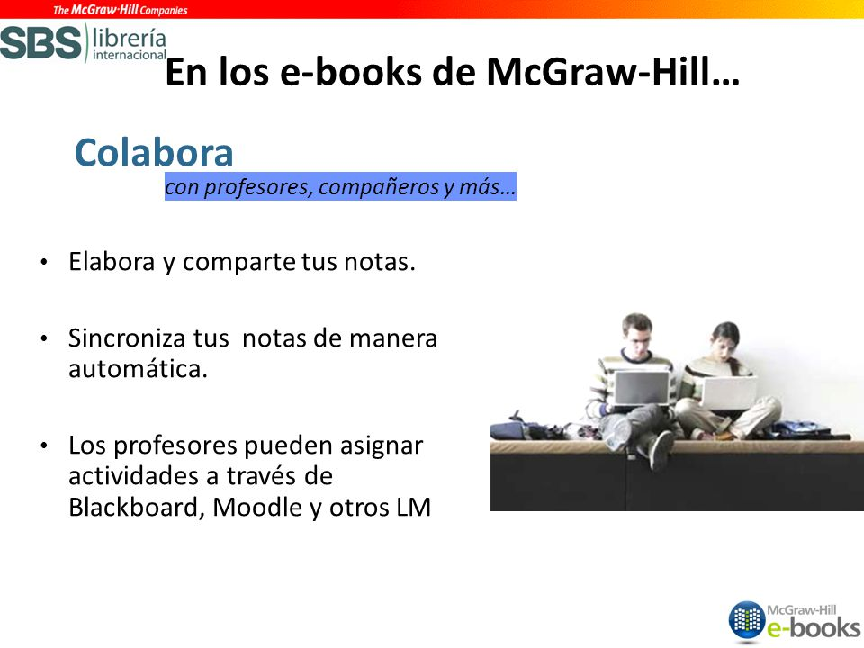 En los e-books de McGraw-Hill…