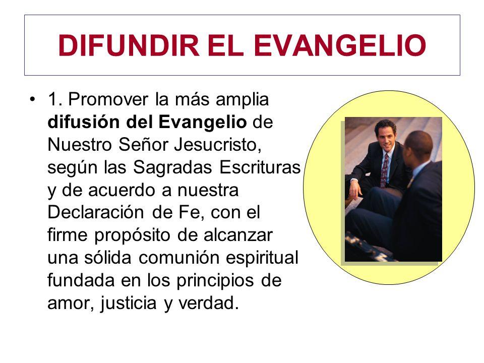 DIFUNDIR EL EVANGELIO