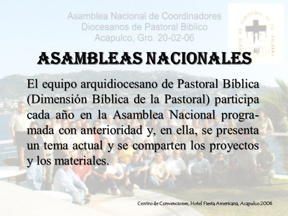 ASAMBLEAS NACIONALES