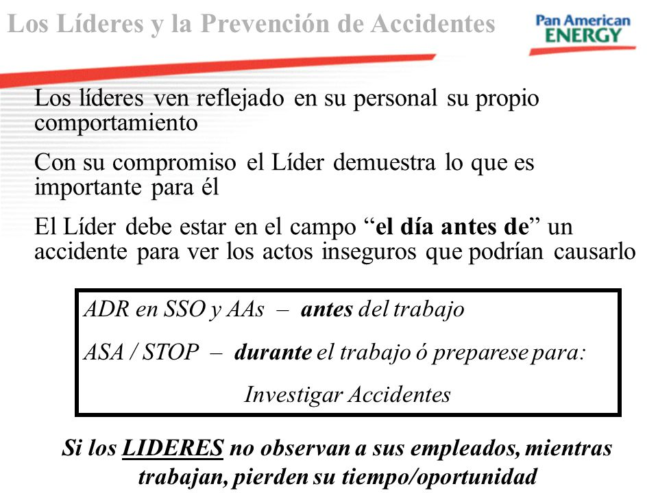 Investigar Accidentes