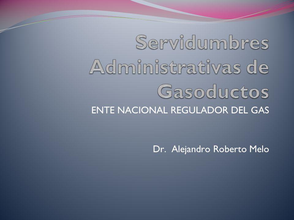 Servidumbres Administrativas de Gasoductos