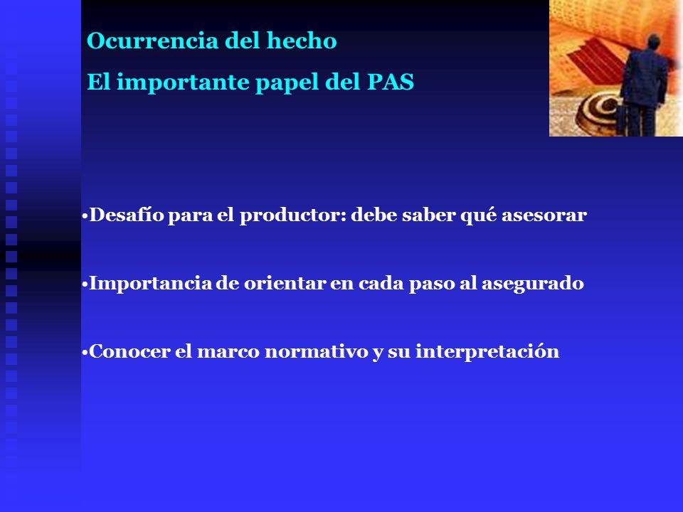 El importante papel del PAS