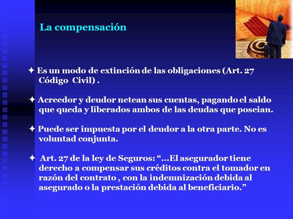 La compensación Código Civil) .